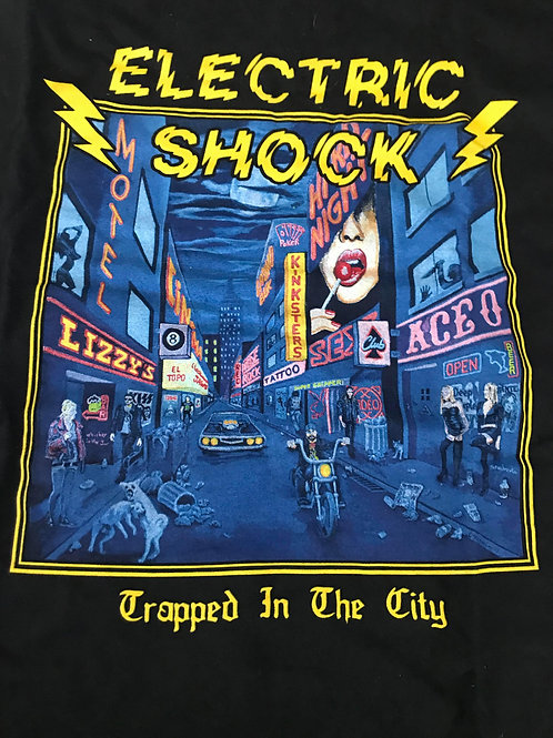 ELECTRIC SHOCK - Trapped in The City - T-shirt