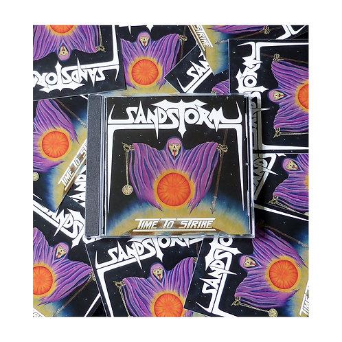 SANDSTORM - Time To Strike - CD