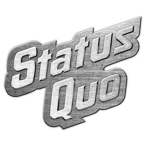 STATUS QUO- Badge Metal