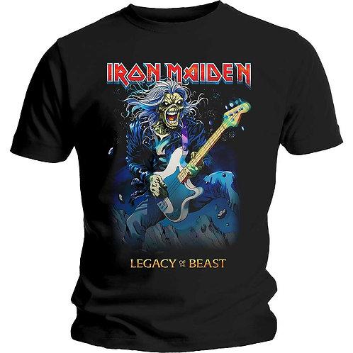 IRON MAIDEN - Eddie On Bass - Official T shirt