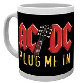 MUG - AC/DC - PLUG ME IN