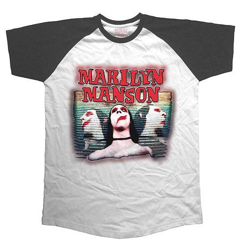 MARILYN MANSON - Sweet Dreams - Raglan T shirt