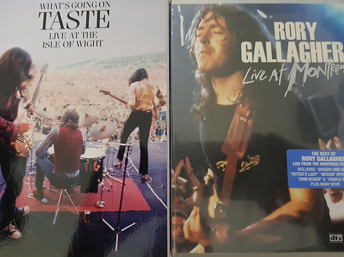 COMBO 2 DVD - RORY GALLAGHER+TASTE