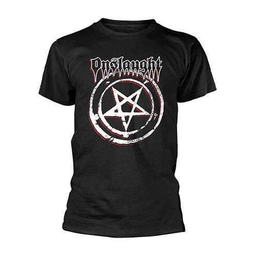 ONSLAUGHT - Pentagram T shirt