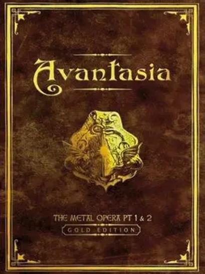 TOBIAS SAMMET'S AVANTASIA - THE METAL OPERA PART I & II - BOOK 2 CD GOLD EDITION