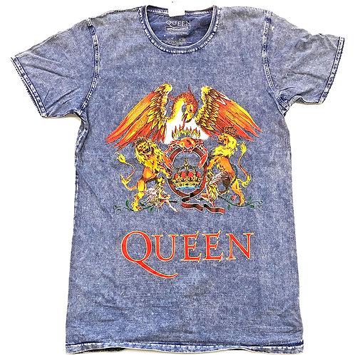 QUEEN - Classic crest - Denim shirt