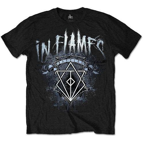IN FLAMES - Battle Crest - T shirt