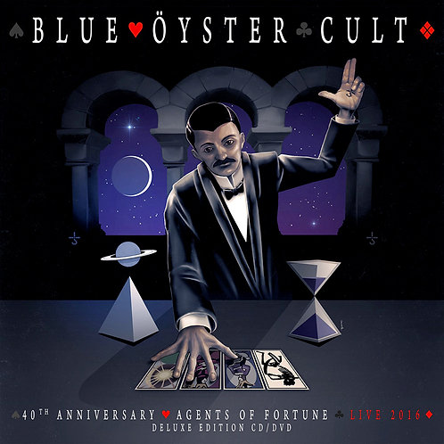BLUE OYSTER CULT - Agents Of Fortune Live 2016 - CD + DVD