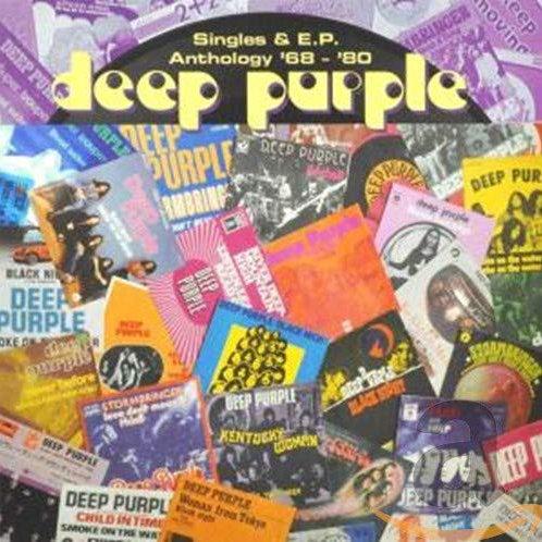 DEEP PURPLE - SINGLES & EP ANTHOLOGY 68 - 80 - 2 CD