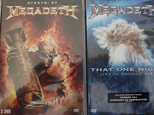COMBO 2 DVD - MEGADETH