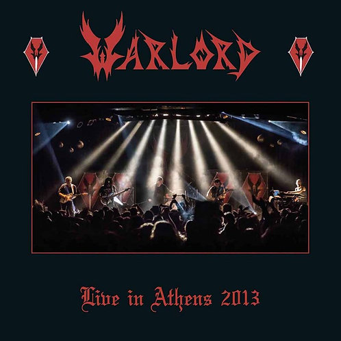 WARLORD - Live In Athens 2013 - Slipcase 2CD
