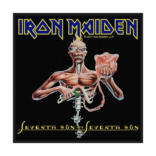 IRON MAIDEN - SEVENTH SON - OFFICIEL WOVEN PATCH