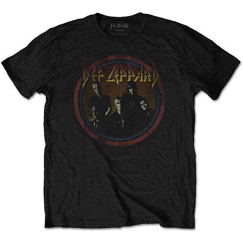 DEF LEPPARD - Vintage circle