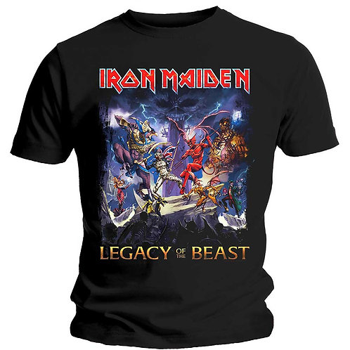 IRON MAIDEN - Legacy Of The Beast - Official T shirt