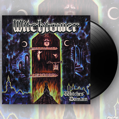 WITCHTOWER - Witches' Domain - Black LP