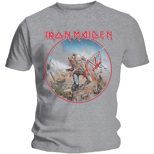IRON MAIDEN - The Trooper Vintage - Official T shirt