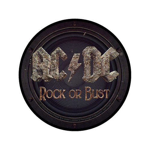 AC/DC - Rock Or Bust - OFFICIEL WOVEN PATCH