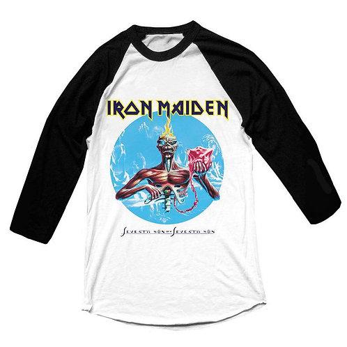 IRON MAIDEN - Seventh Son RAGLAN - Official T shirt