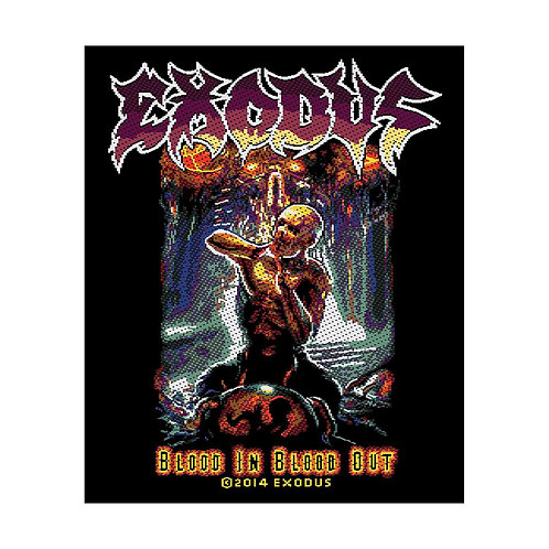 EXODUS - BLOOD IN BLOOD OUT - OFFICIEL WOVEN PATCH