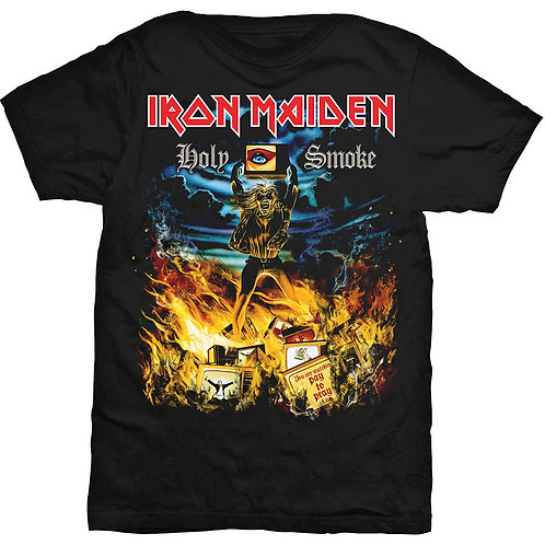 IRON MAIDEN - Holy Smoke - Official T shirt