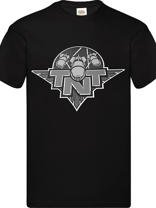 TNT - Classic Black And White Logo - T shirt