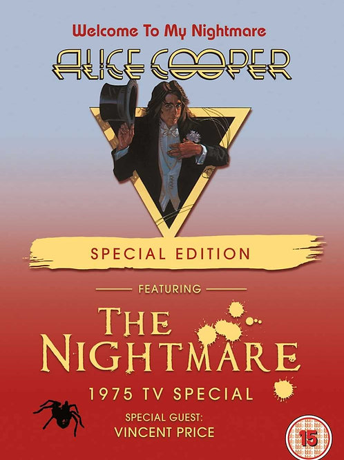 ALICE COOPER - THE NIGHTMARE 1975 TV SPECIAL - DVD