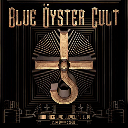 BLUE OYSTER CULT - Hard Rock Live Cleveland 2014 - 2CD +1DVD
