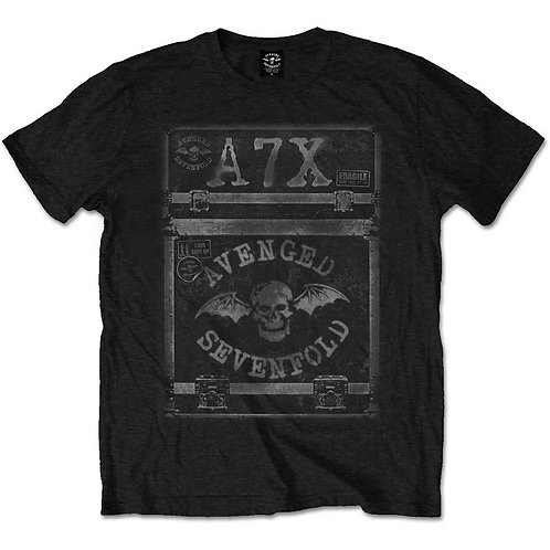 AVENGED SEVENFOLD - Flight Case - T shirt