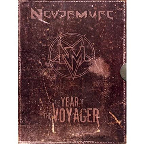 NEVERMORE - THE YEAR OF THE VOYAGER LIVE DELUXE - BOX 2 CD+2 DVD