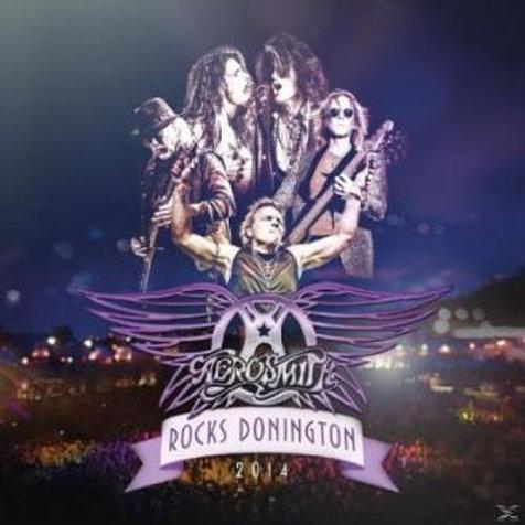 AEROSMITH - ROCKS DONINGTON 2014 - 2  DIGI CD + DVD