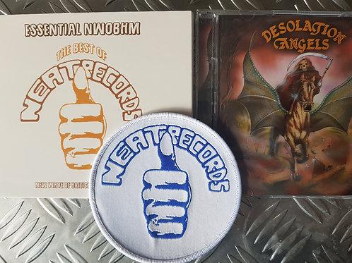 NWOBHM BUNDLE - 2 CD/1 PATCH