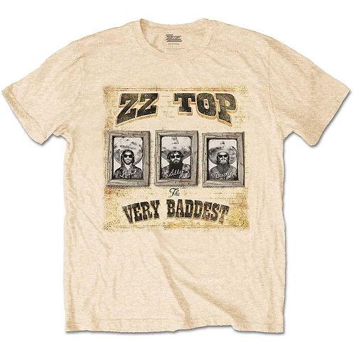 ZZ TOP - Very Baddest Official T shirt