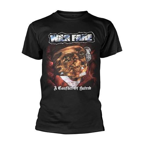 WARFARE - A Conflict of Hatred T shirt