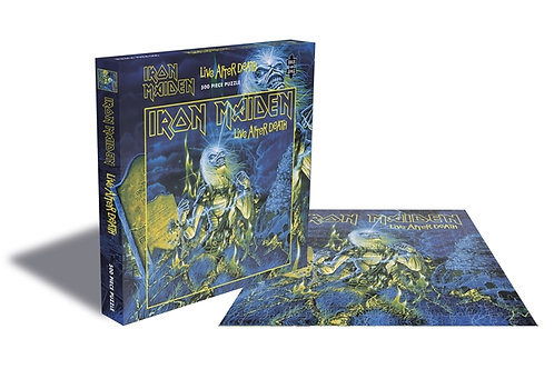 PUZZLE - IRON MAIDEN - Live After Death