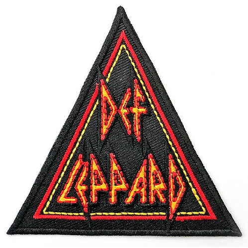 DEF LEPPARD - TRIANGLE - OFFICIEL WOVEN PATCH
