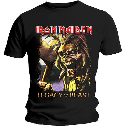 IRON MAIDEN - Legacy Killers - Official T shirt