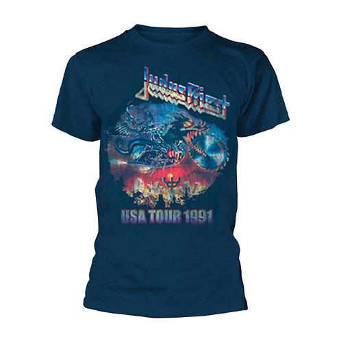 JUDAS PRIEST - Painkiller USA TOUR 1991 - T shirt