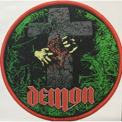 DEMON - Night Of The Demon - Woven Patch