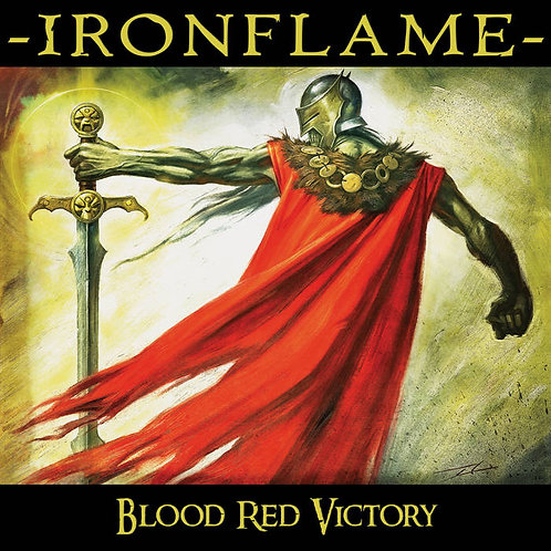 IRONFLAME - Blood Red Victory - CD