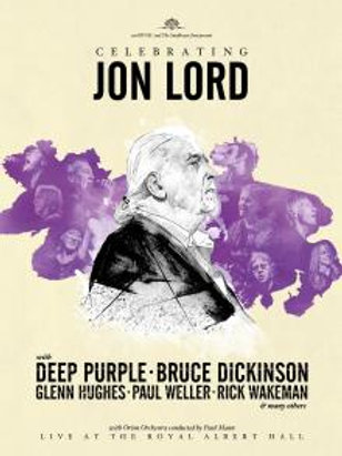 CELEBRATING JON LORD - LIVE FROM THE ROYAL ALBERT HALL - 2 DVD