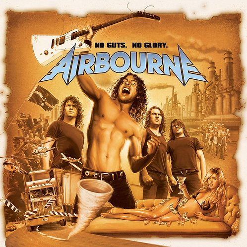 AIRBOURNE - No Guts, No Glory - DIGI CD