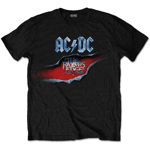 AC DC - The Razors Edge - Official T shirt