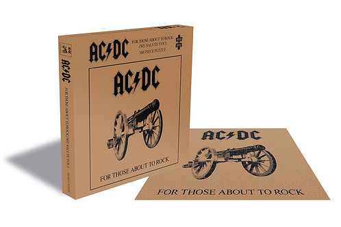 PUZZLE - AC/DC - FOR THOSE ABOUT ROCK
