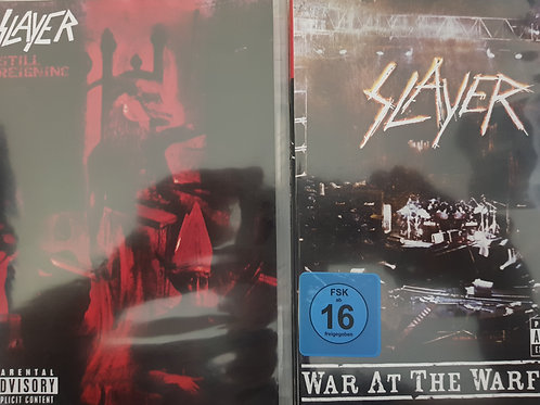 COMBO 2 DVD - SLAYER