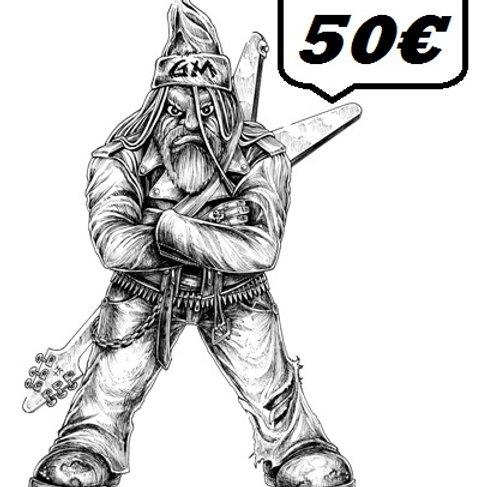50€ - GIFT CARD GRUMPY / BON CADEAU