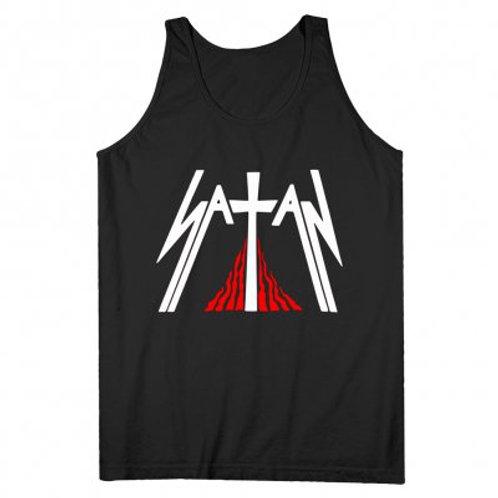 SATAN - Kiss Of Death Tank Top - Official T shirt