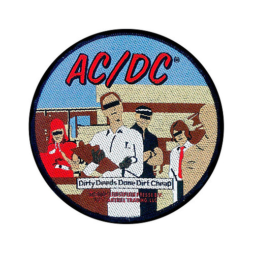 AC/DC - DIRTY - OFFICIEL WOVEN PATCH
