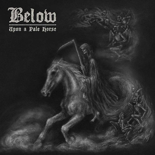 BELOW - Upon A Pale Horse - GREY LP