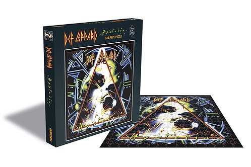 PUZZLE - DEF LEPPARD - Hysteria