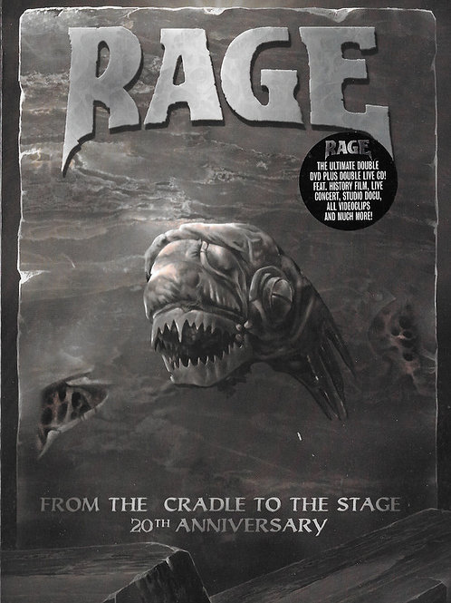 RAGE - FROM THE CRADLE TO THE STAGE 20 TH ANNIVERSARY - 2 DVD